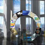 One World Trade Center Interactive media ring